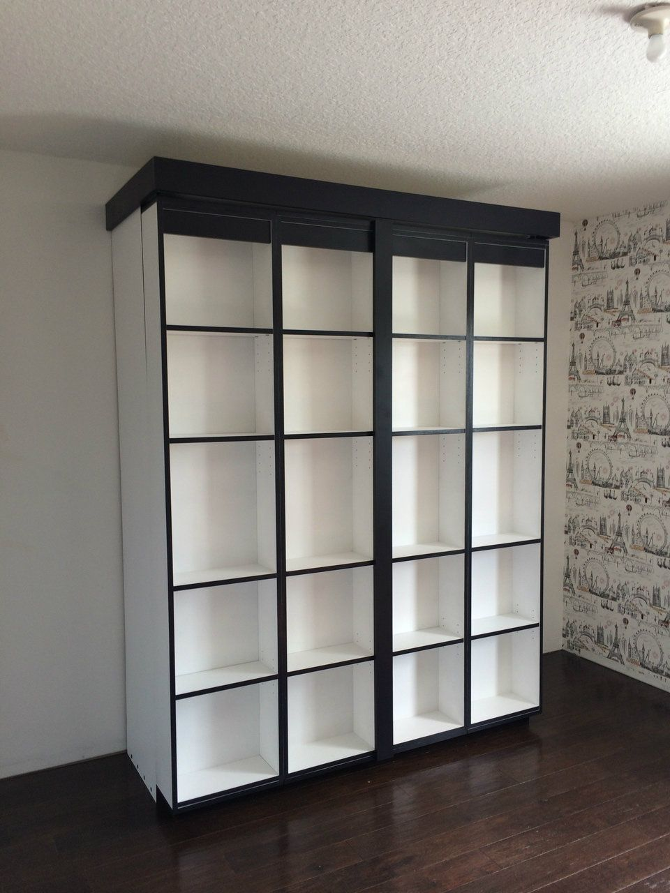Boaz BiFold Bookcase Bed | Murphy Bed Depot