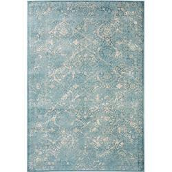 Photo of benuta Teppich Velvet Blau 200×290 cm – Vintage Teppich im Used-Look benuta