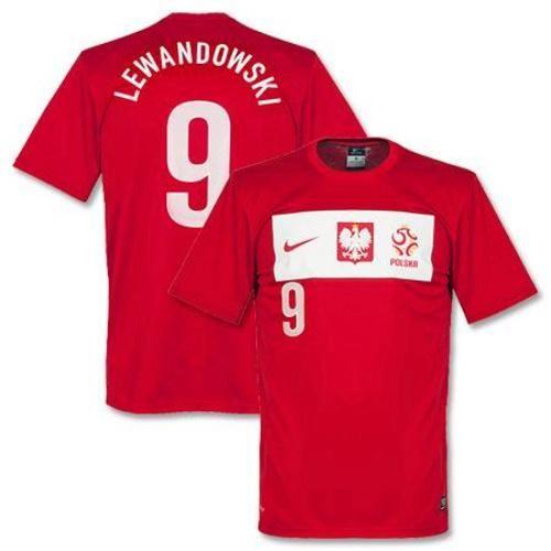 64556c53 ... discount code for poland 9 robert lewandowski red away soccer country  jersey. 8928a 6150b
