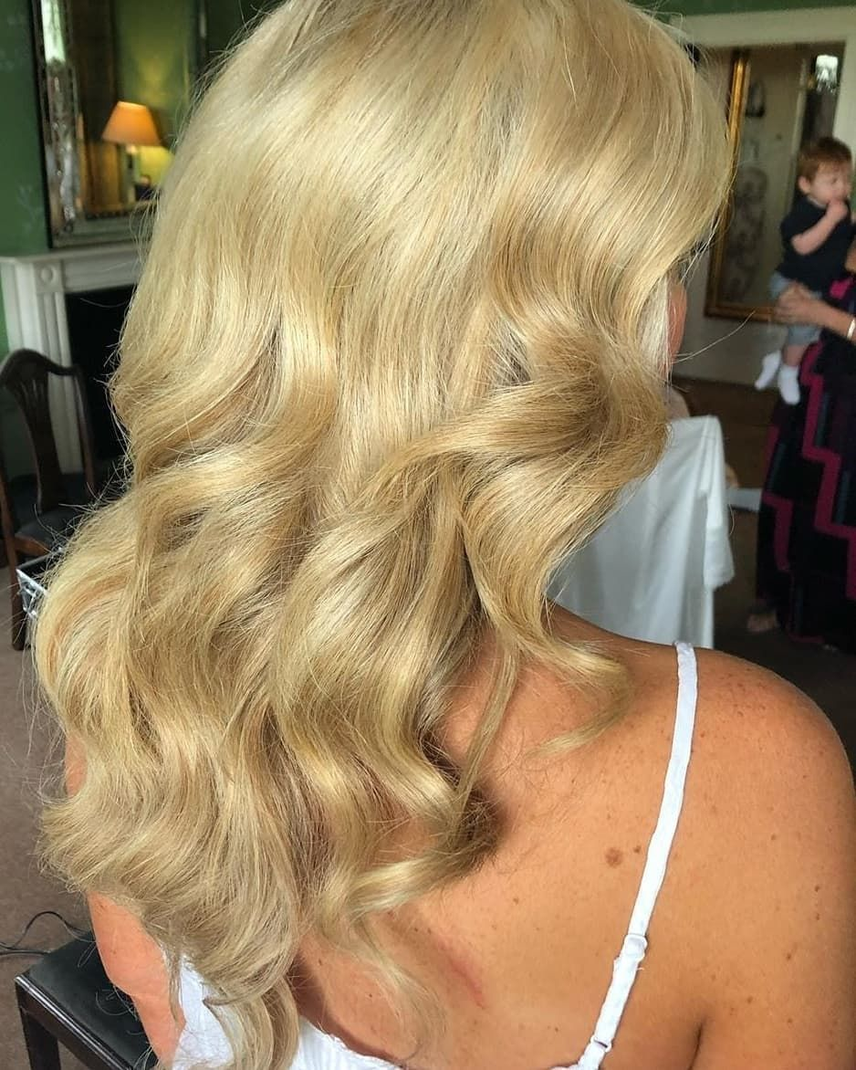 Full Head Remy Clip In Human Hair Extensions Ice Blonde Clip