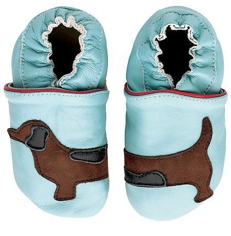 Sausage Dog shoes for baby (size 0-12 months). ***aghh Madi must have them!***