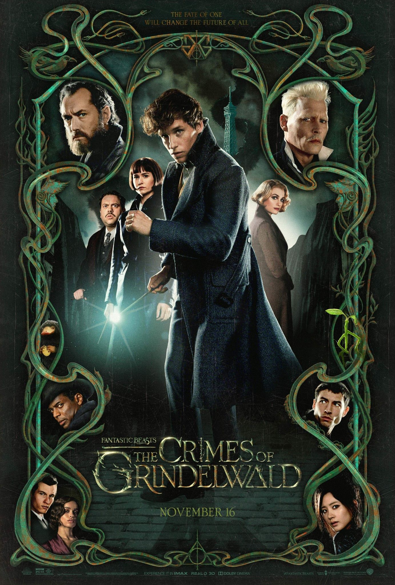 Pin De Anderson Tavares Em Harry Potter Bestas Fantasticas