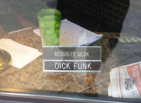 securitydeskdickfunk