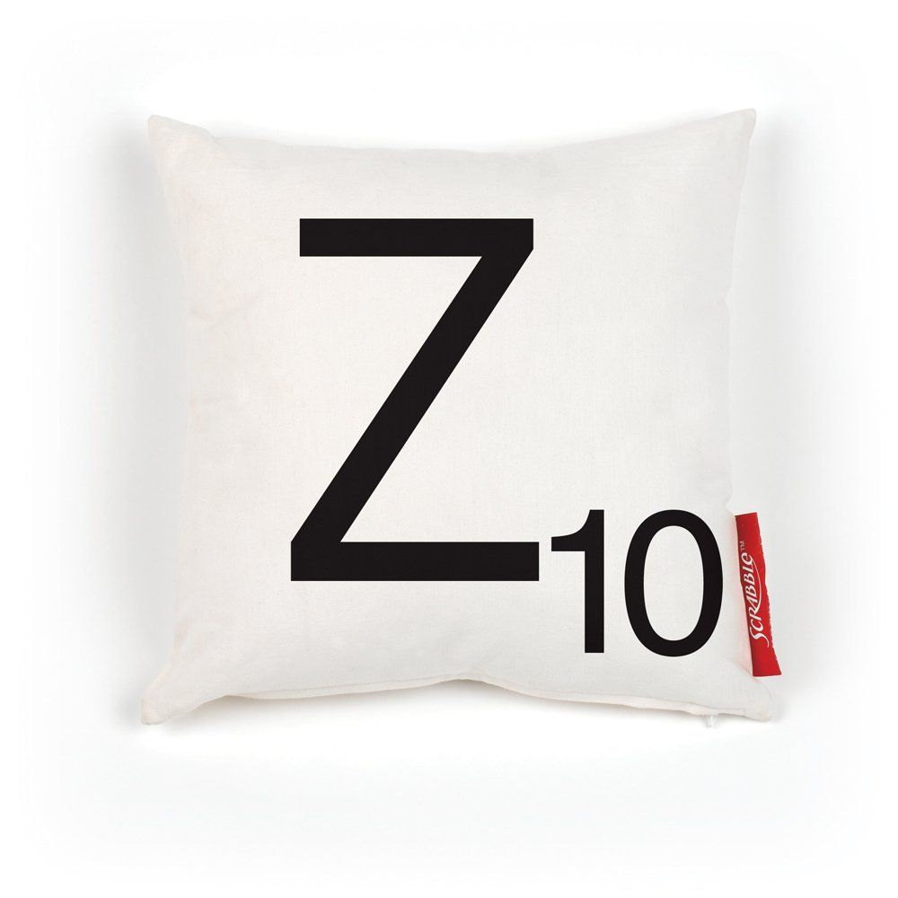 Scrabble 100 Percent Polyester Pillow Cover Letter Z To View Further For This Item Visit The Image Link This I Home Decor Tips Decorative Pillows Pillows
