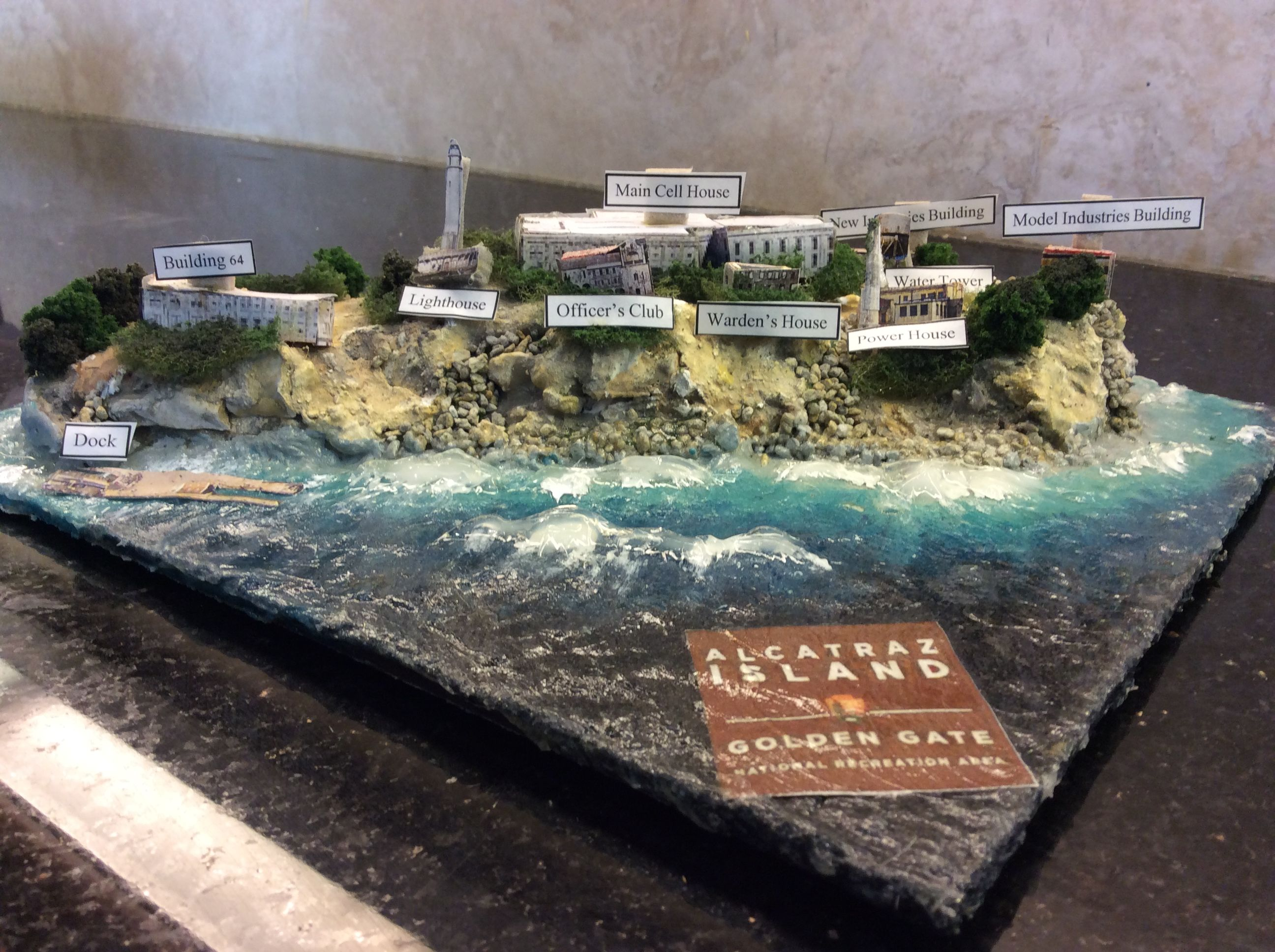 Alcatraz Island Model Alcatraz Island Alcatraz Model Industry