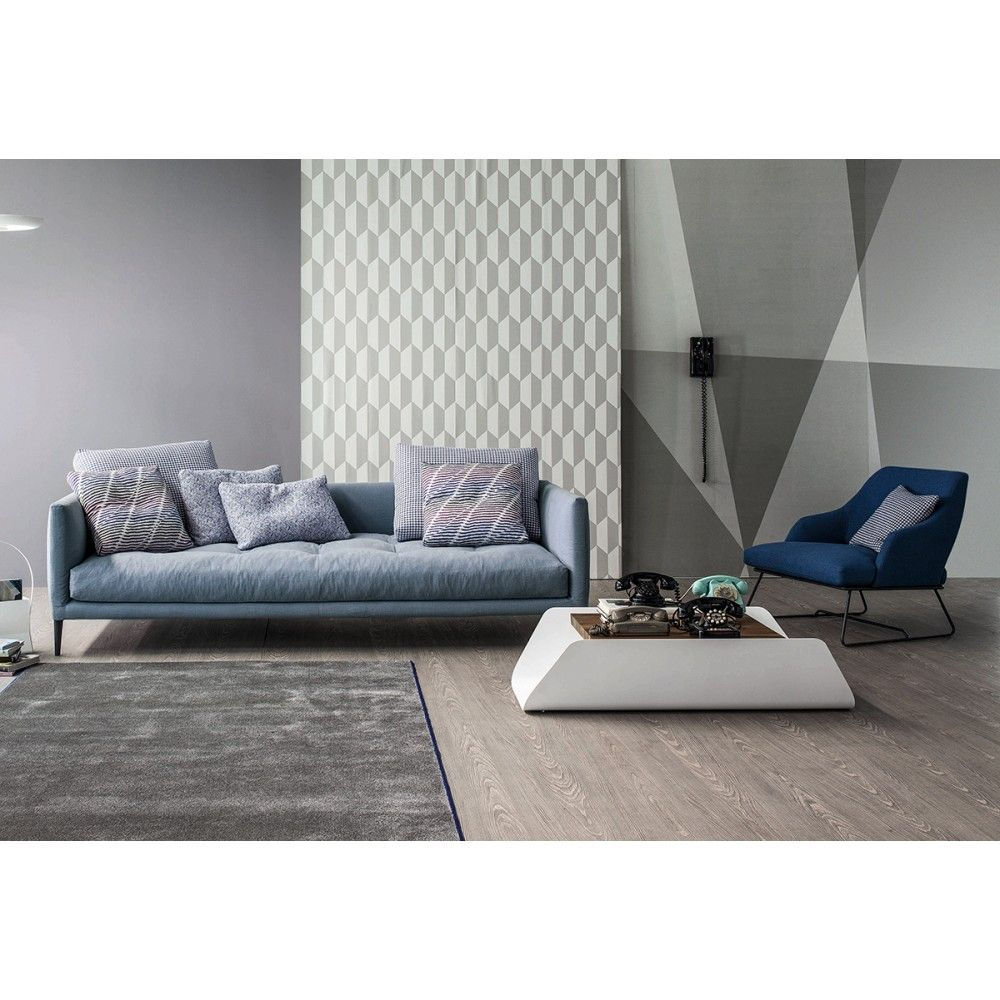 Bend Coffee Table Modern Living Room Design at Cassoni Furniture