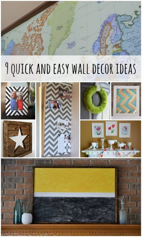 Wall Decoration Easy Ideas