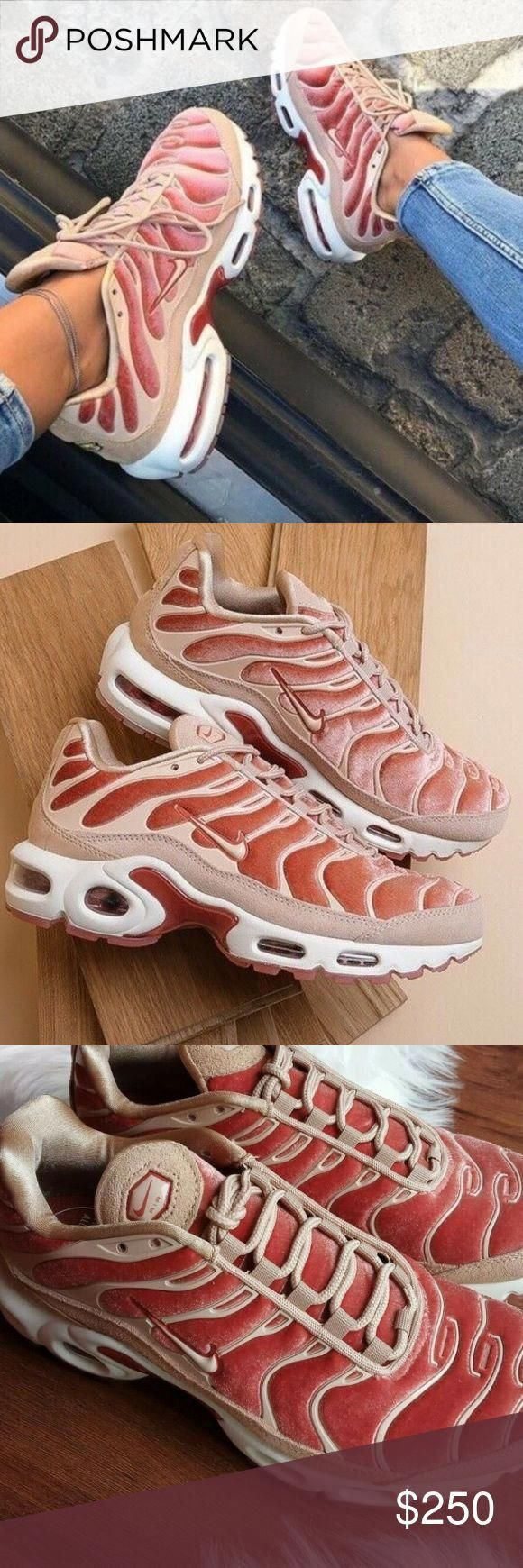 Nike Air max plus lux dusty peach women