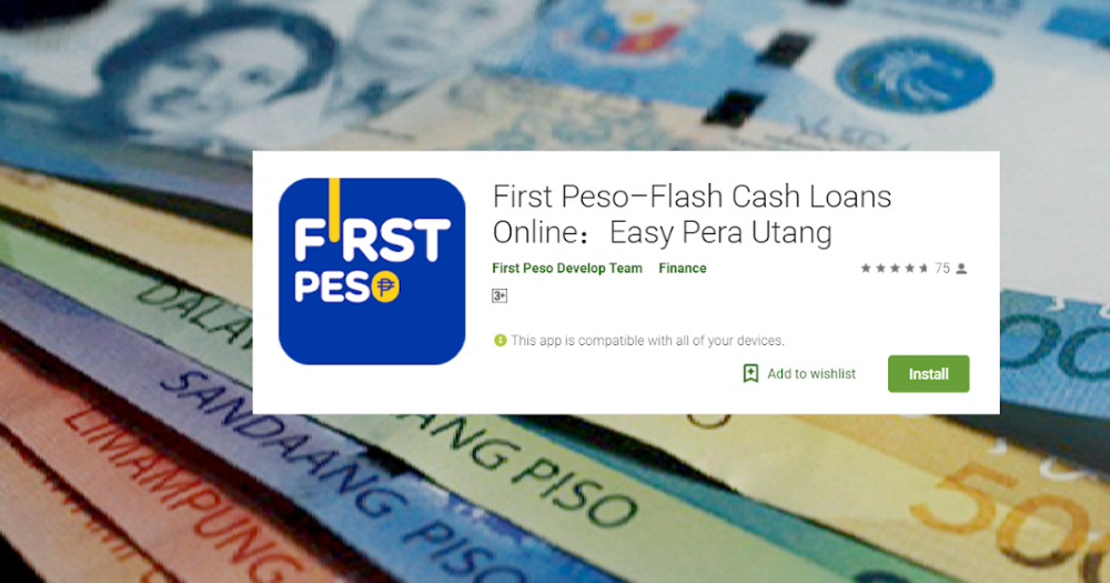 First Peso Is An Online Cash Loan Platform Providing Convenient Personal Cash Loan Services To People Who Need Mon Cash Loans Cash Loans Online Fast Cash Loans