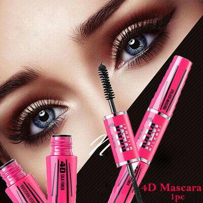 Thicken Eyelash Curling Eye Makeup Tool 4D Silk Fiber Mascara Eyelash Extension