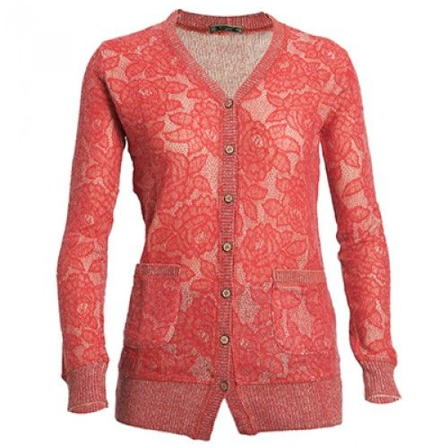 The fancy Lace Acrylic Wool Blend Cardigan for Ladies to keep you warm and  stylish.  winterfashion d4a0147ad