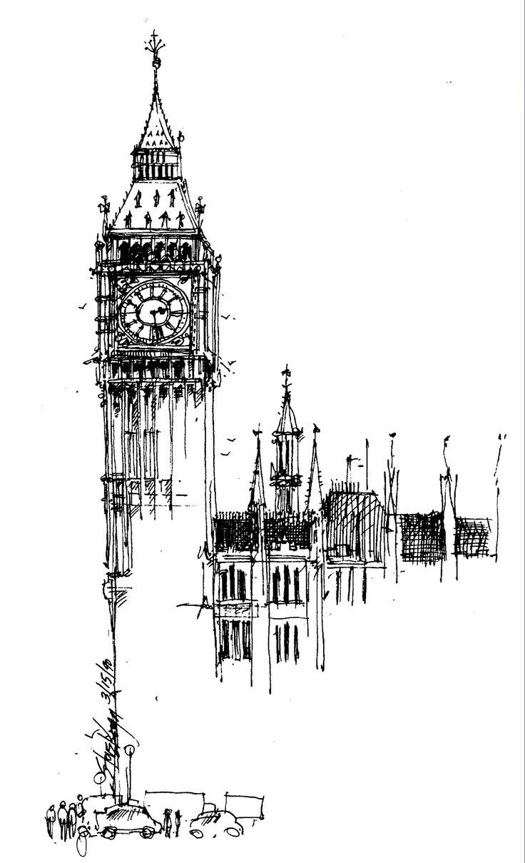 These are London street drawings I did in 1990 .:
