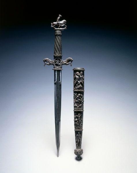 Dagger 17th Century 16th Century Blade Switzerland And Or