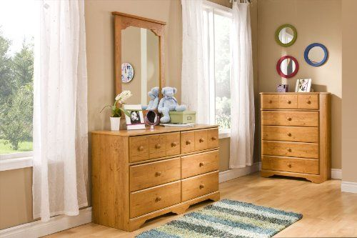 South S Furniture Little Treasures Collection Double Dresser Country Pine Price
