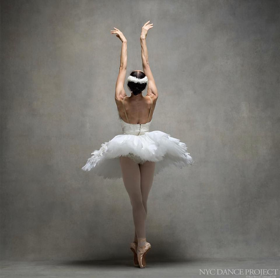 "#ballet best photos by ""My Coolness"": Svetlana Lunkina, Principal, The National Ballet of Canada. Dying Swan costume, designed by John Neumeier. - Photo by NYC Dance Projec"