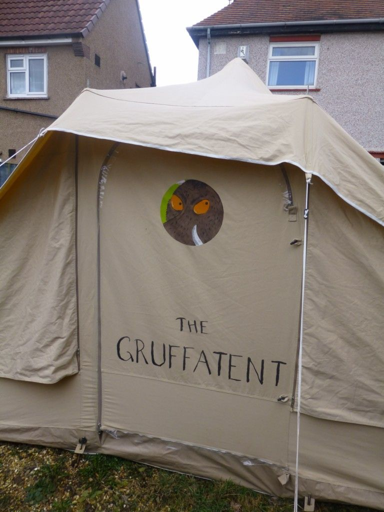 Pin By One Of A Kind Handmade Gifts On Gruffalo Tent Bell Tent