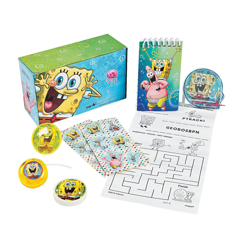SpongeBob+SquarePants™+Favor+Packs+-+OrientalTrading.com   Katie ...