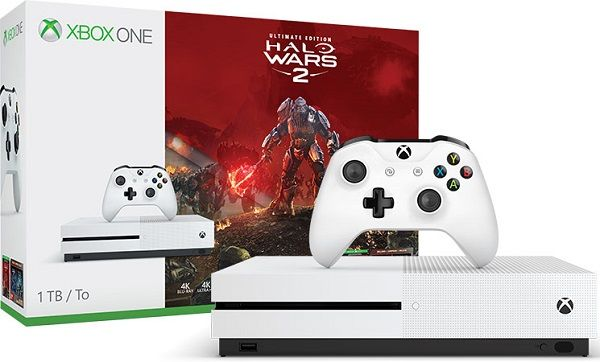 Microsoft Xbox One S 1tb Halo Wars 2 Bundle 329 99 Black Friday Kohl S Xbox One S Xbox One S 1tb Xbox One