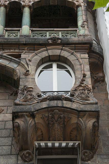 Immeuble Lavirotte 29 Avenue Rapp Paris 7e C Mairie De Paris Francois Grunberg Ventanas Mirilla Puertas