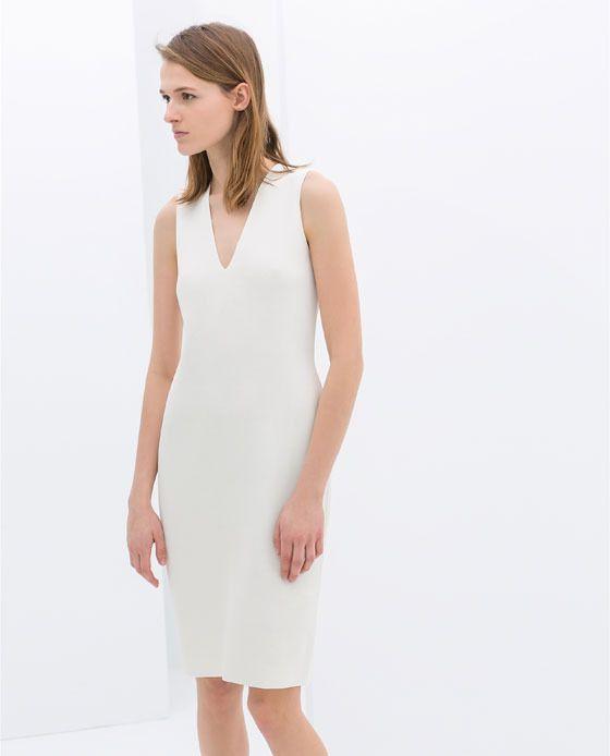 Zara Sleeveless Shift Dress on shopstyle.com