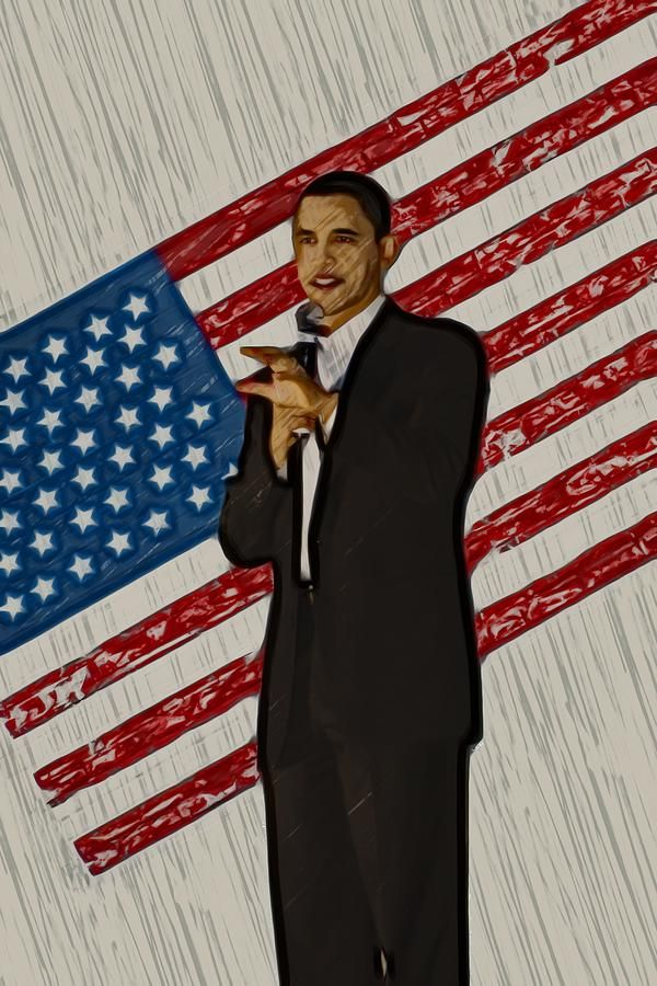 Barack Obama Photograph  - Barack Obama Fine Art Print from $31