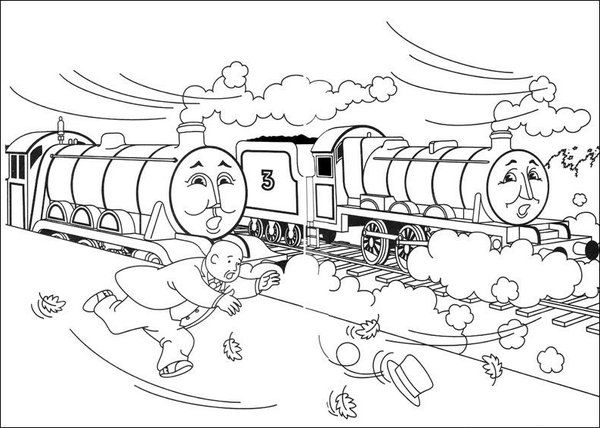 Thomas The Tank Engine Coloring Pages Picture 16 – Free Thomas The ...