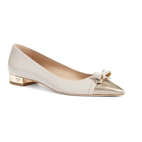 288b465e718 Women s Tory Burch  Belleville  Ballet Flat ( 295) ❤ liked on Polyvore  featuring shoes