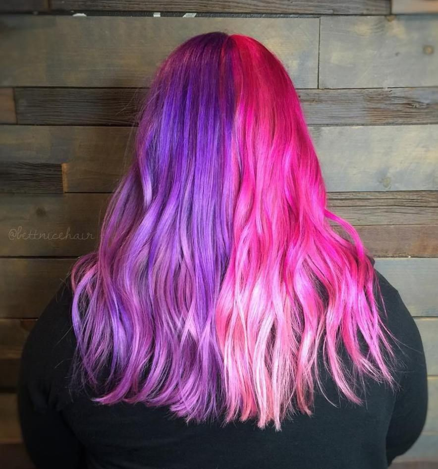 unboring styles with magenta hair color pastel hair magenta