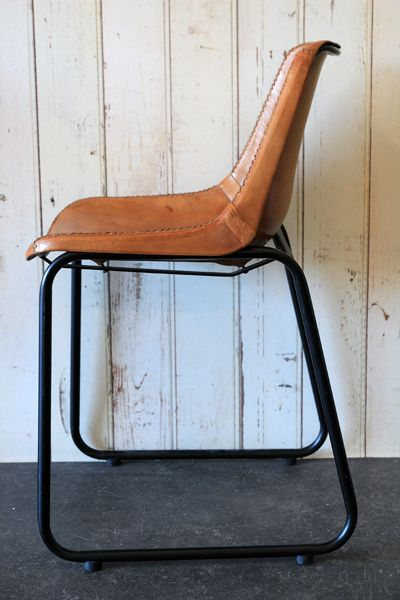 Superior Objects Of Design #288: Industrial Leather Dining Chair
