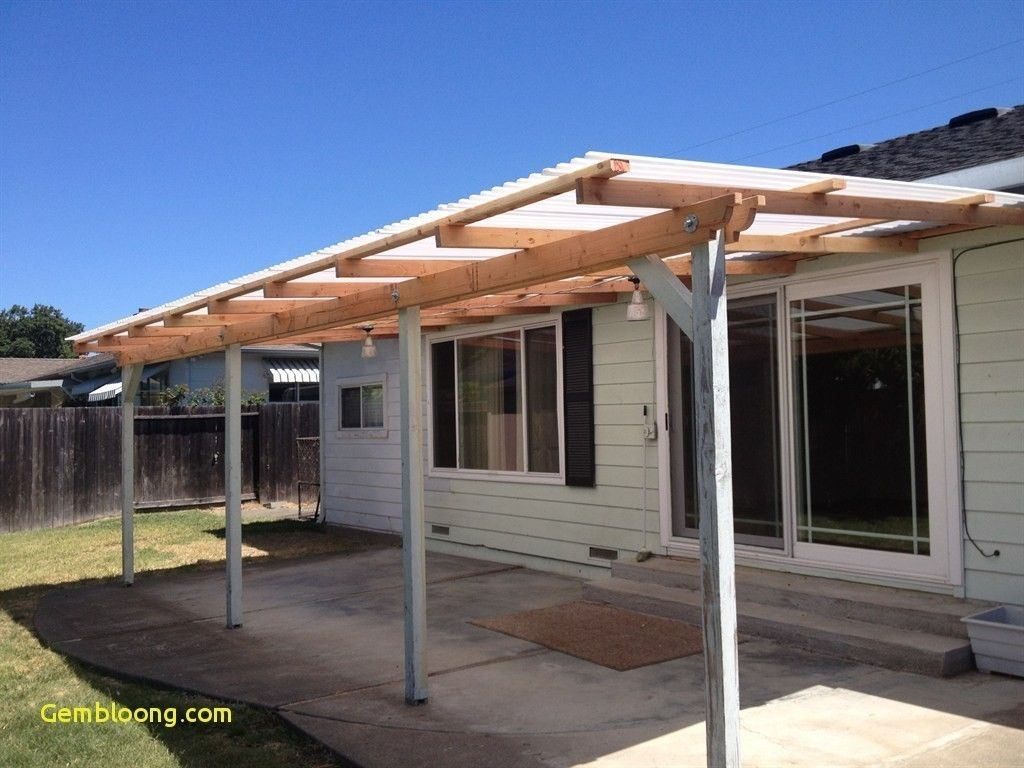 Patio Roof Ideas Diy Backyard Shade Deck Cover Structures