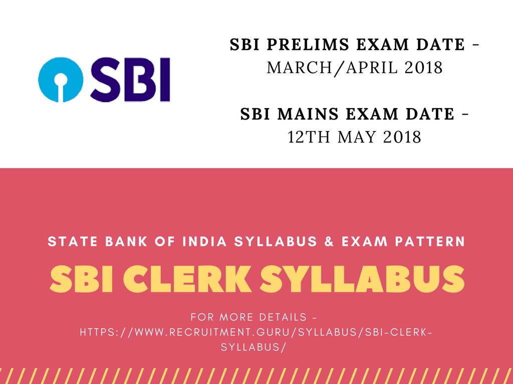 Bank Clerk Exam Syllabus Pdf