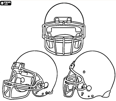 Image Detail For Kid Friendly Super Bowl Party Ideas Lil Blue Boo Football Coloring Pages American Football Football Helmets