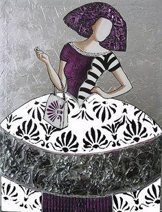 Cuadro menina bacb171 arte en vidrio pinterest drawing people and drawings - Cuadros de meninas ...