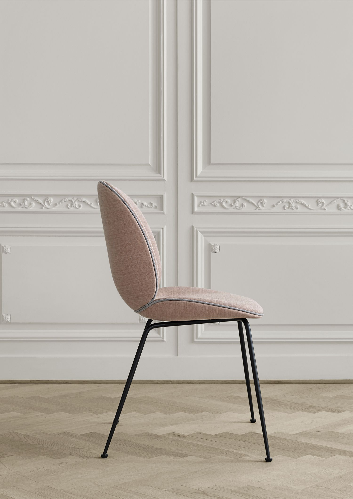 The Elegant Beetle Chair By Design Duo Gamfratesi Dressed In Remix