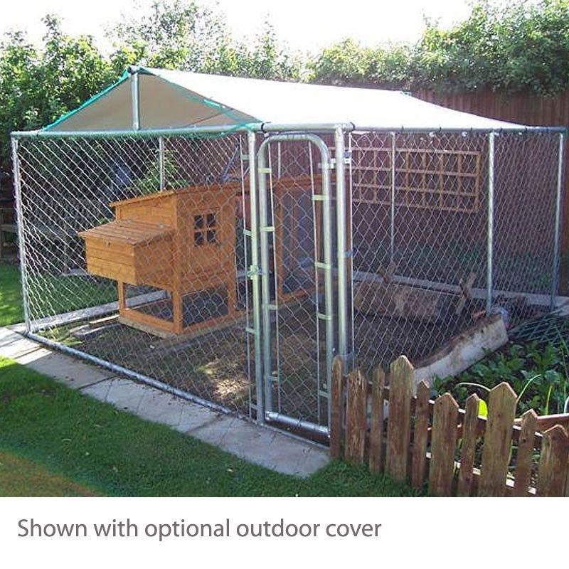 20 Best Outdoor Dog Runs Metal dog kennel, Outdoor dog