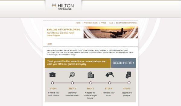Hilton Team Member Travel Program Tmtp To Get S