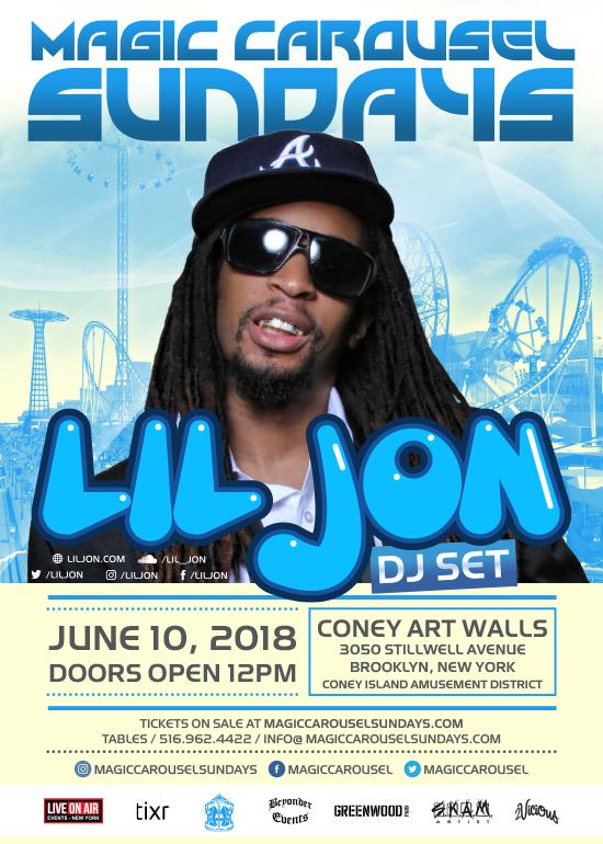 Lil Jon At Magic Carousel Skam Lil Jon Live On Air Carousel