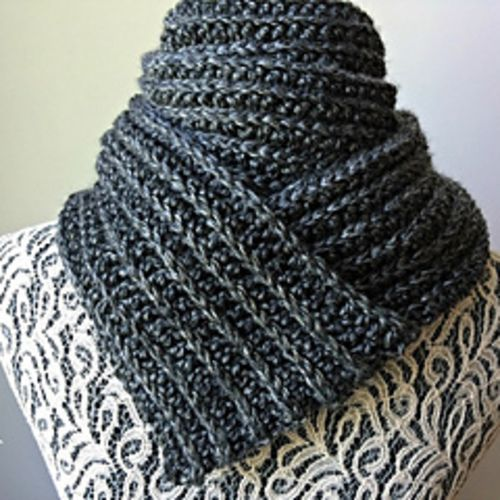 Crochet Me Lovely - Just For Him - Classic Ribbed Scarf pattern by...