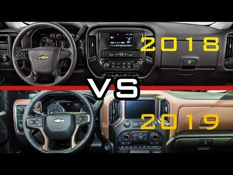 2018 vs 2019! Chevy Silverado 1500 Interior - YouTube ...