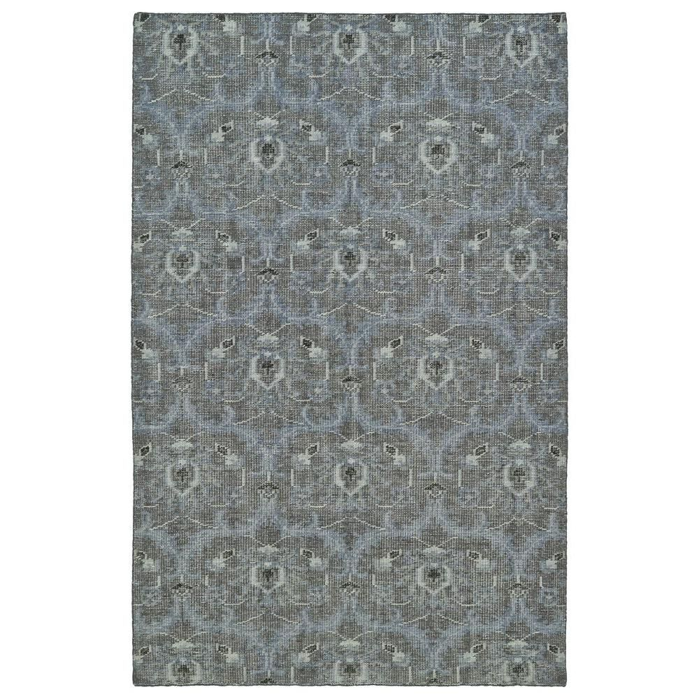 Relic Graphite (Grey) 5 ft. 6 in. x 8 ft. 6 in. Area Rug