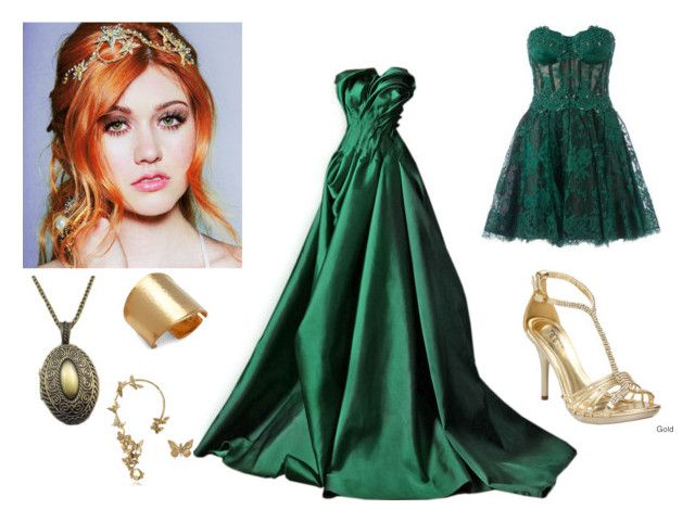 """Descendants Lena Arendall 2"" by sumijepson ❤ liked on Polyvore featuring Ellie, Zuhair Murad, Kenneth Jay Lane and Bernard Delettrez"