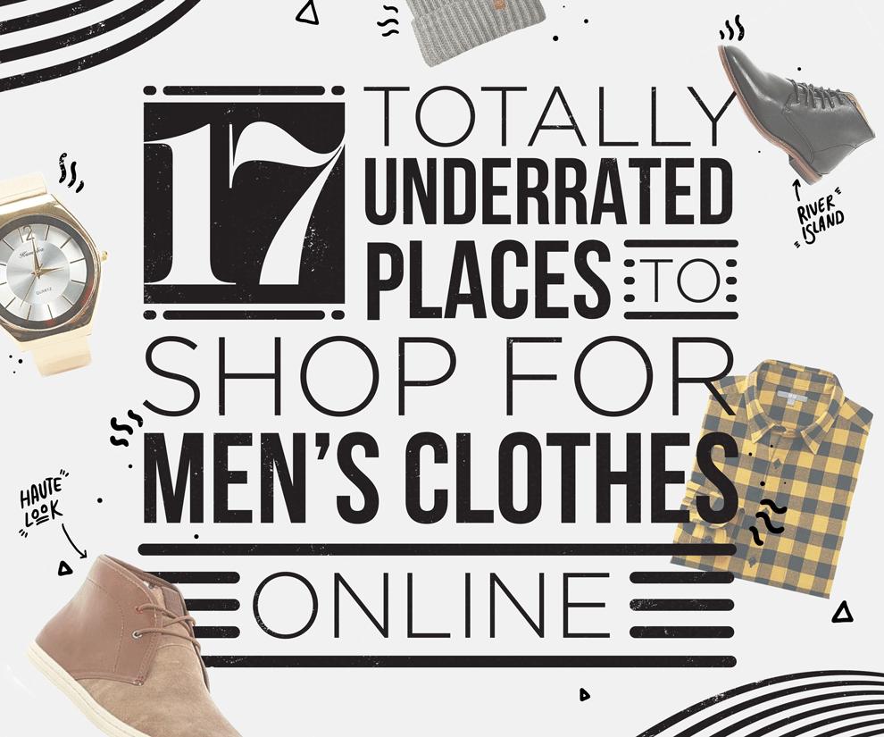 Best place for men's clothes online