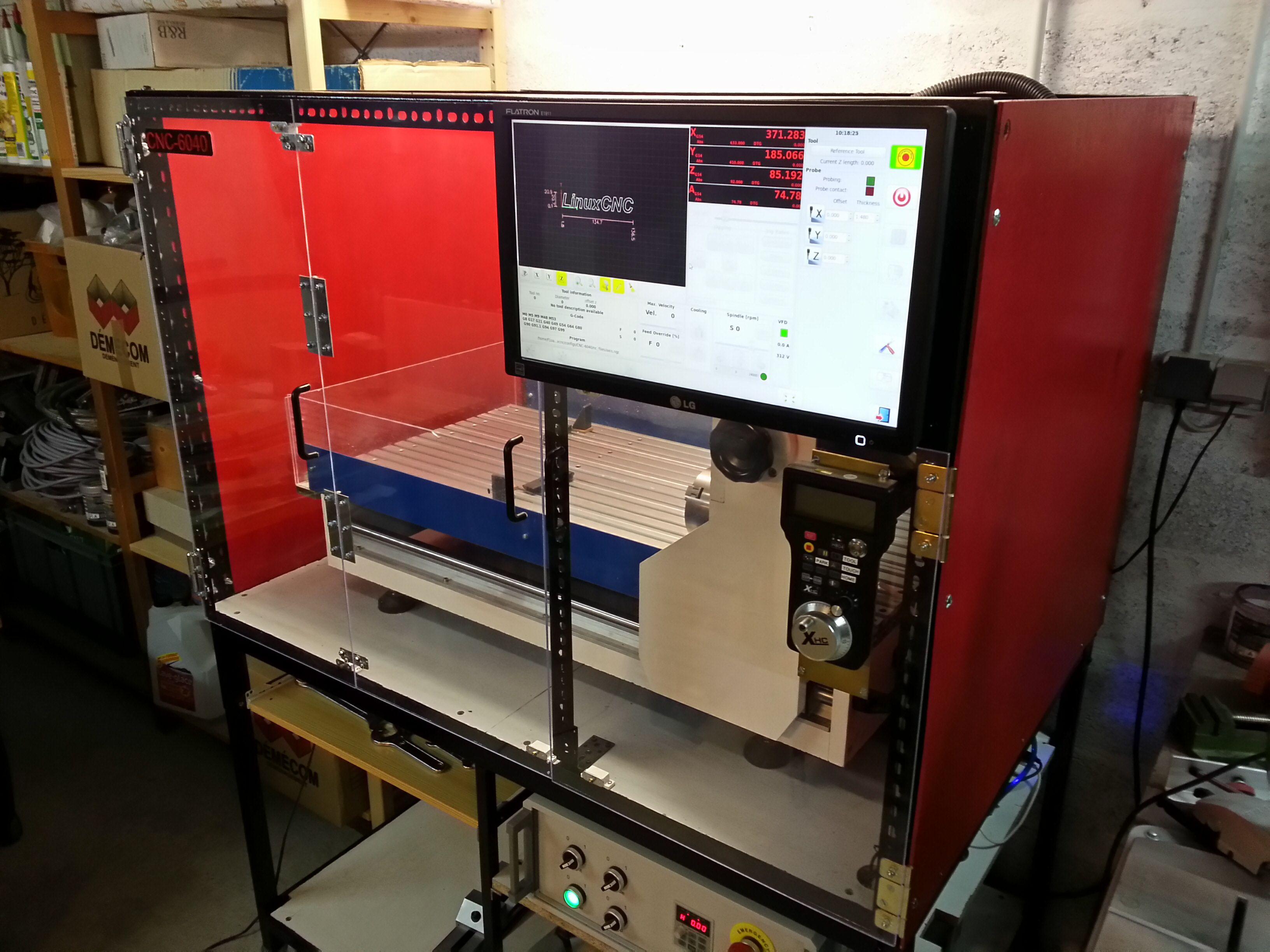 bench cnc milling machine