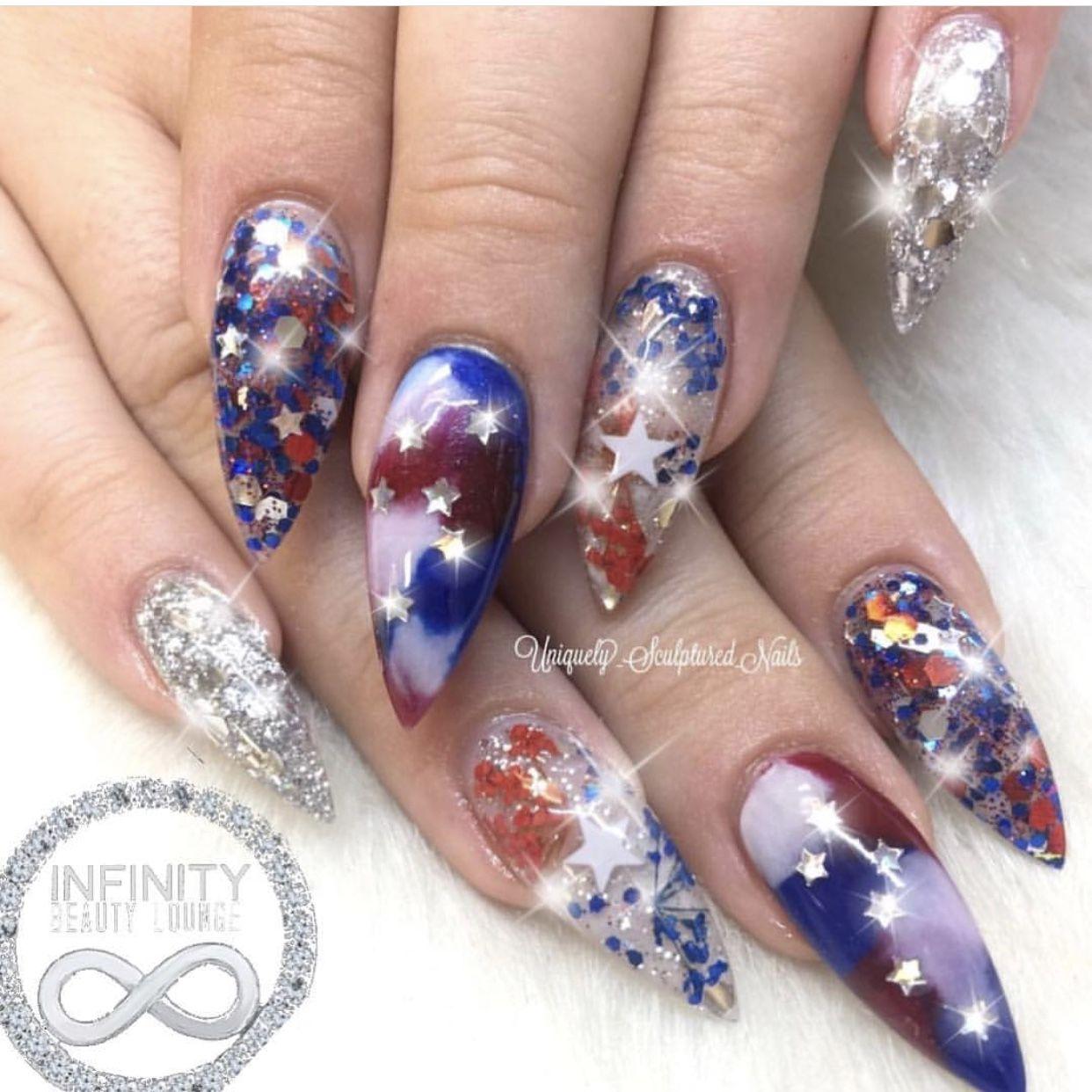 Infinity Beauty Lounge Jax Hair And Nail Salon Swarovski Nails Hair And Nails