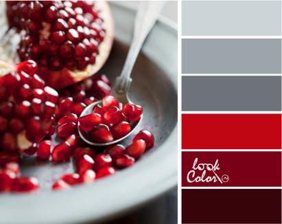 Rojo Y Gris Combinacion De Colores Lookcolor Rojo Y Gris Combinacion De Colores Lookc Paleta De Color Colores Para Restaurantes Paletas De Colores