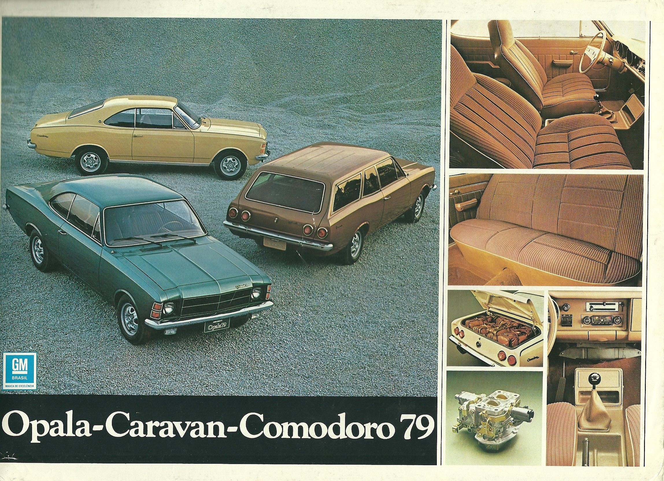 1979 Chevrolet Opala Caravan Comodoro - Brasil