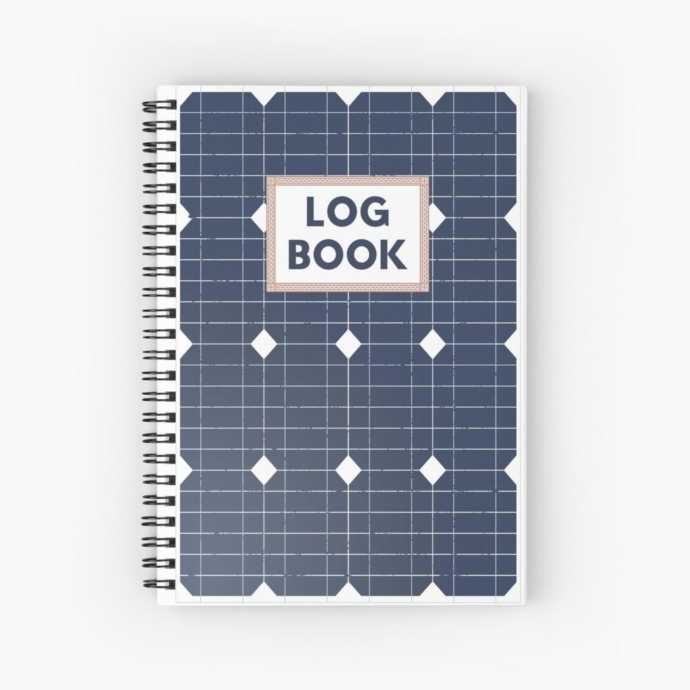 Solar Panels Field Logbook Spiral Notebook By Madjack66 In 2021 Solar Panels Spiral Notebook Paneling
