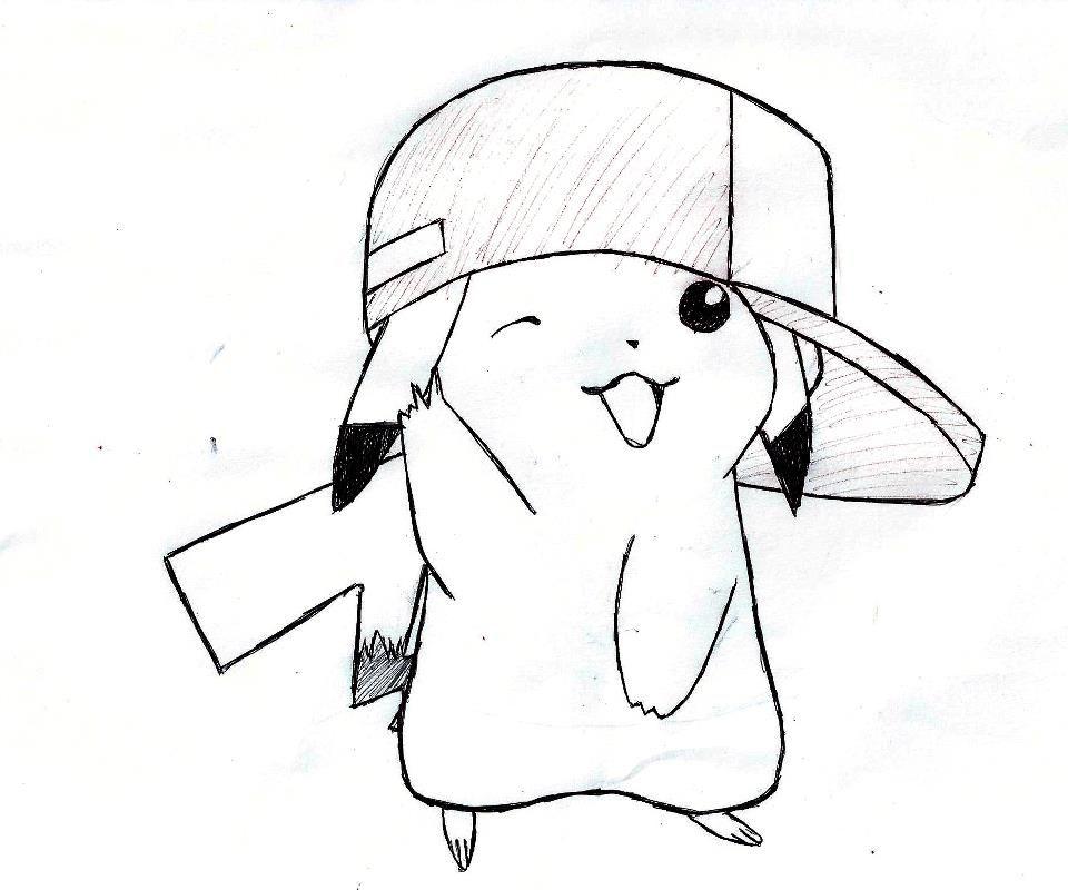 how to draw pikachu& 39