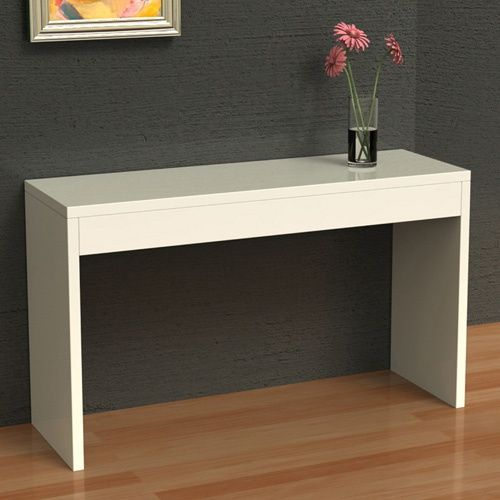 Convenience Concepts Northfield Wall Console Table White Console