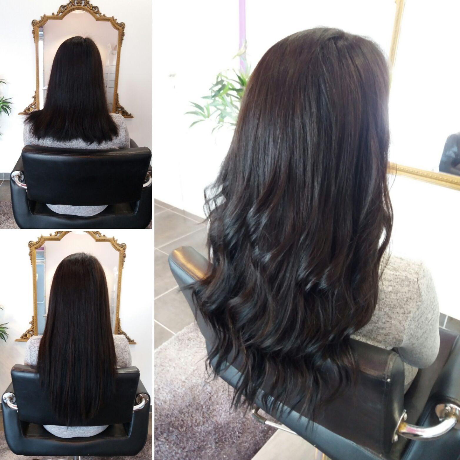 200 extensions de cheveux a chaud noir